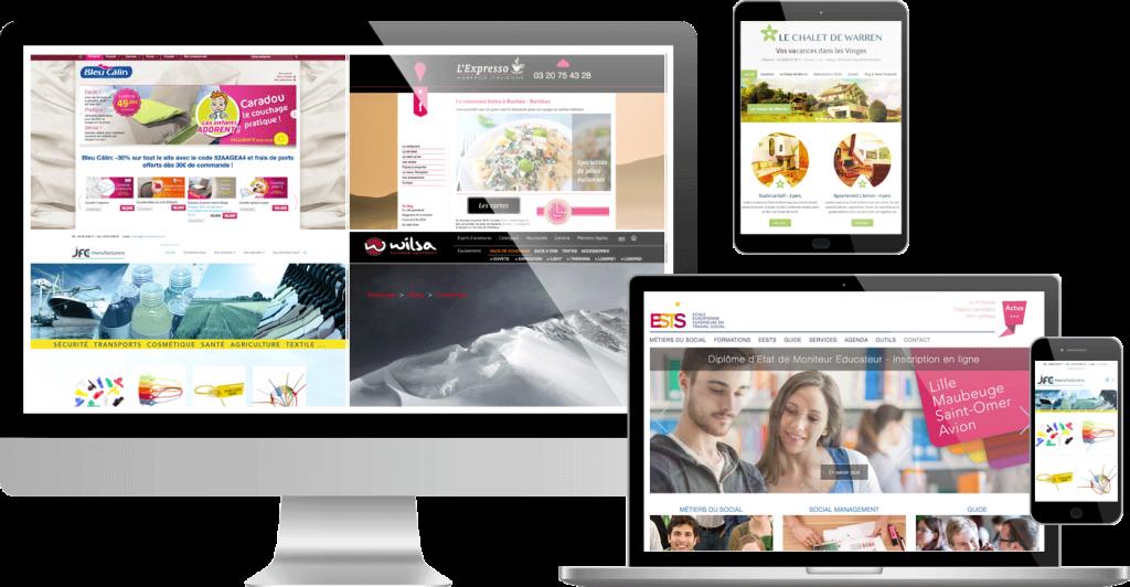 Corpus design - webdesign et projet de site internet